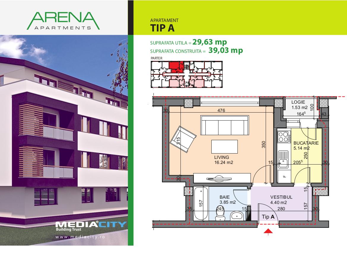 Apartament Tip A