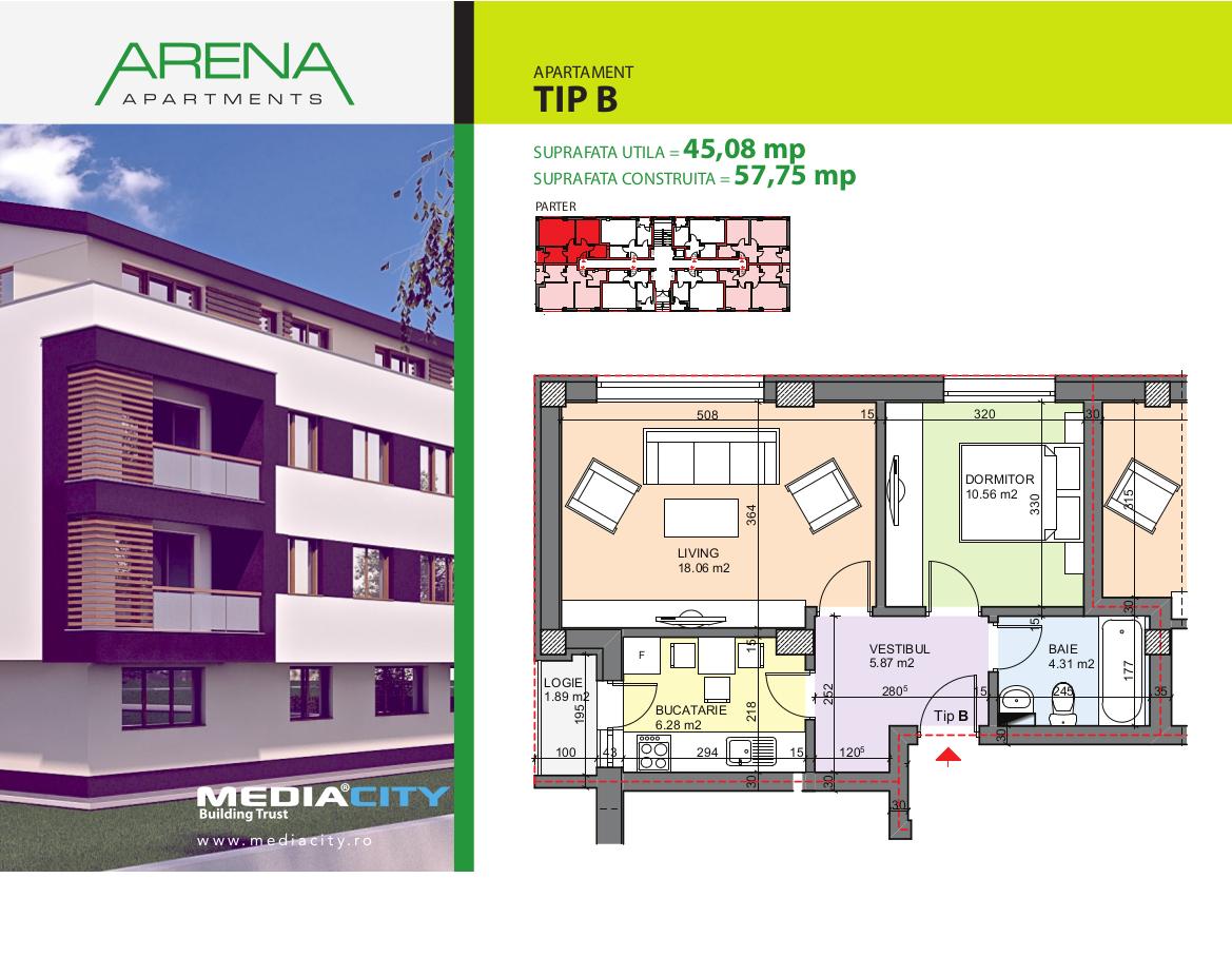 Apartament Tip B